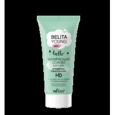 BELITA YOUNG SKIN - Матирующая основа для лица «Мгновенная ровность кожи» HD